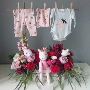 Vasse Flowers Enchanted Baby Girl Garden